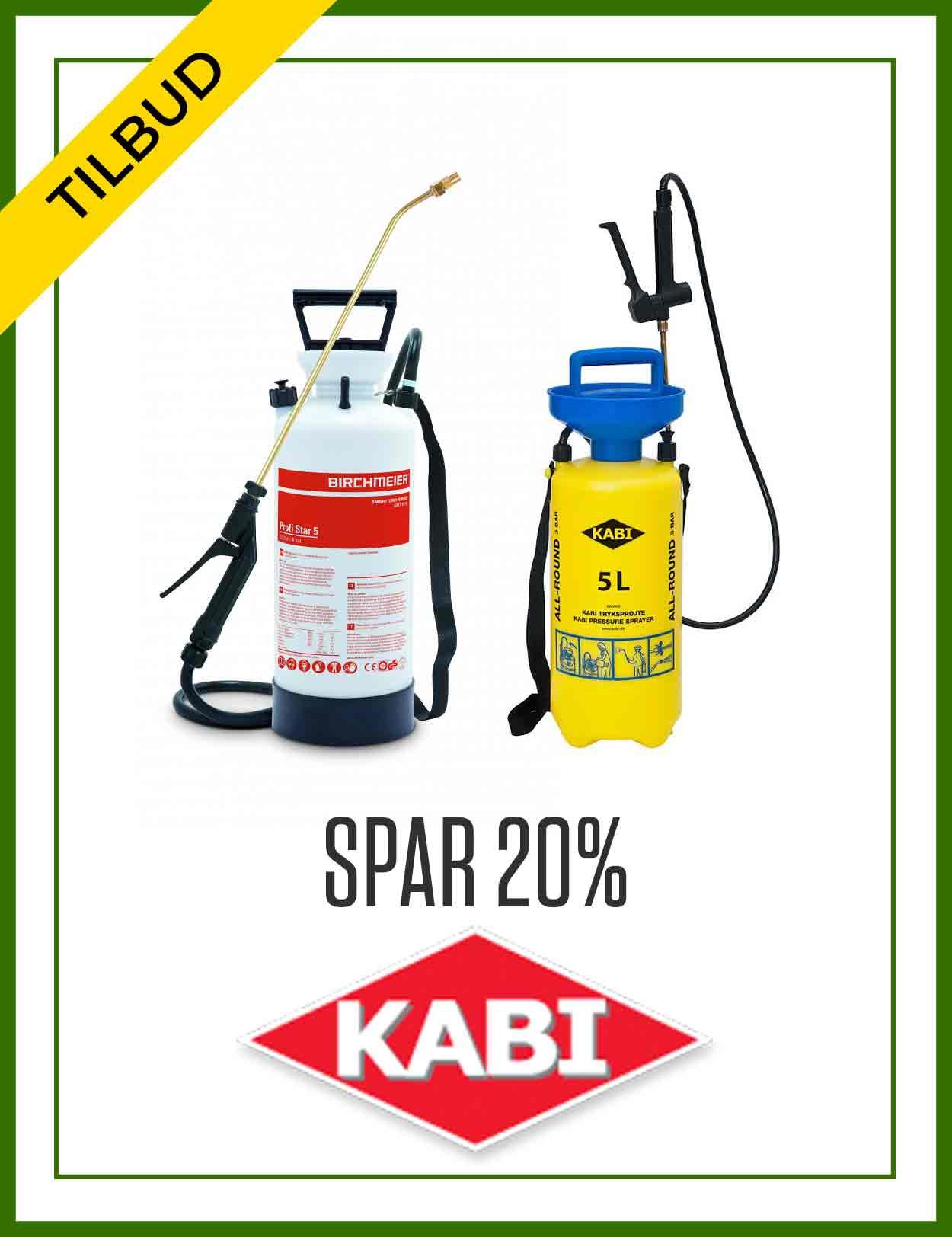 Tilbud - spar 20% på Kabi
