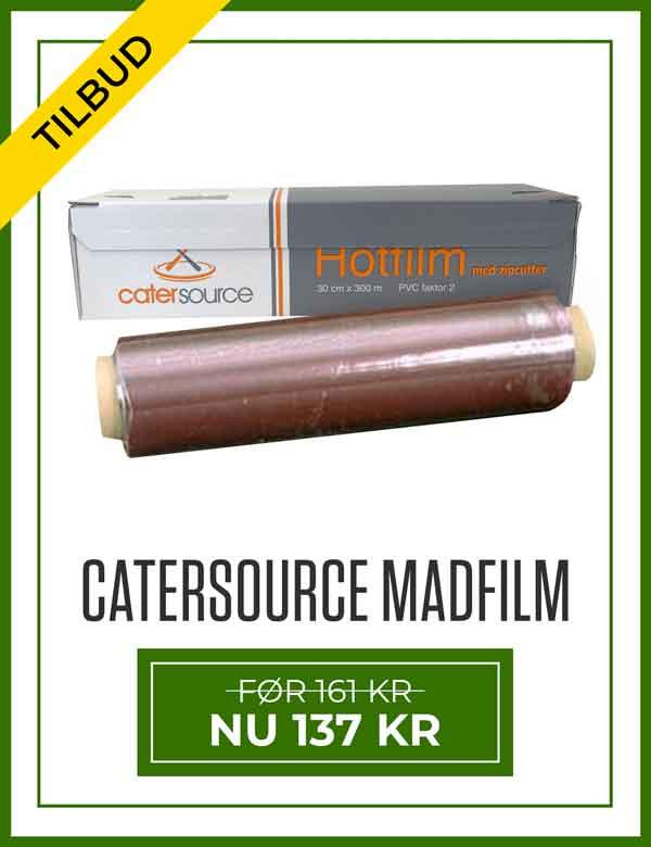 Tilbud på Catersource Madfilm Med Zipcutter 30 cm x 300 meter