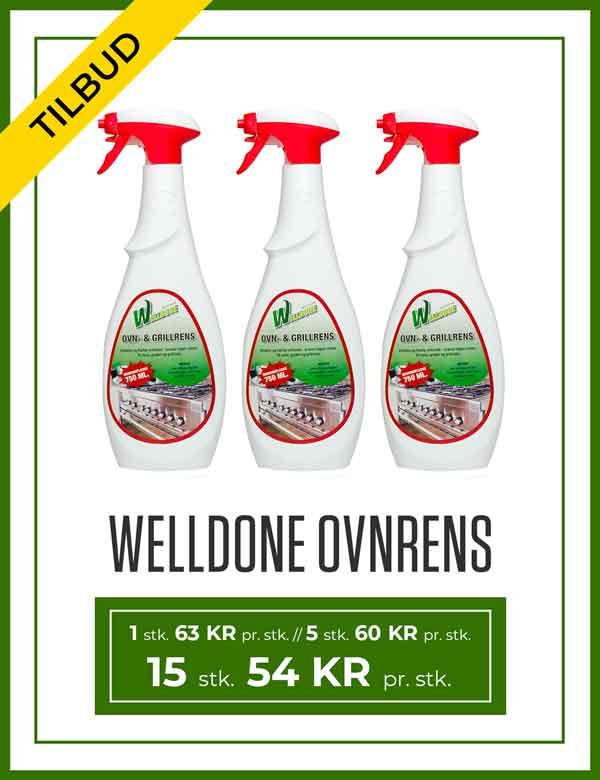 Tilbud på Welldone Ovn- og Grillrens