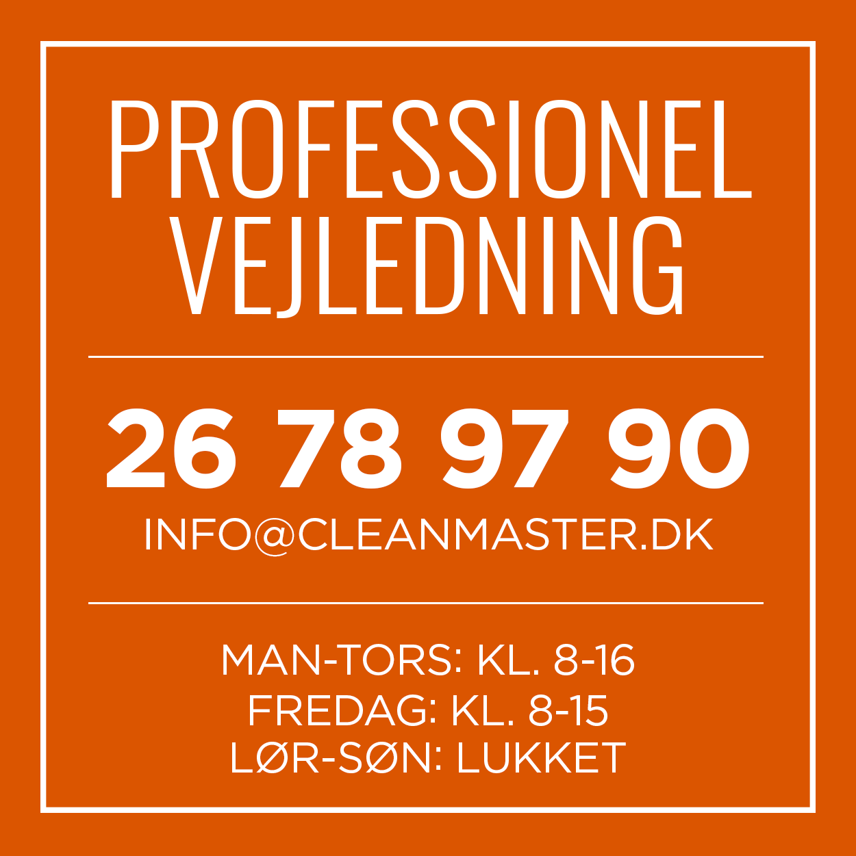 Professionel vejledning i rengøringsmidler og rengøringsartikler